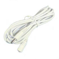 3m-es fehér hosszabbító kábel 3,5mm