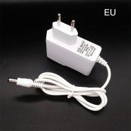 12V 1A hálózati adapter tápegység 5.5mm × 2.1mm - fehér