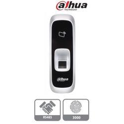 Dahua ujjlenyomat és RFID olvasó - ASR1102A(V2) (Mifare 13,56MHz, RS485, 3000 ujjlenyomat tárolás, 9-15VDC)