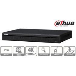 Dahua NVR Rögzítő - NVR5232-4KS2 (32 csatorna, H265, 320Mbps rögzítési sávszélesség, HDMI+VGA, 2xUSB, 2x Sata, I/O)