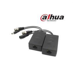 Dahua Video Balun+táp - PFM801-4MP (HDCVI, Max.: 4MP, 2db/csomag)
