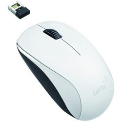 Genius Egér - NX-7000 (Vezeték nélküli, USB, 3 gomb, 1200 DPI, BlueEye, fehér)