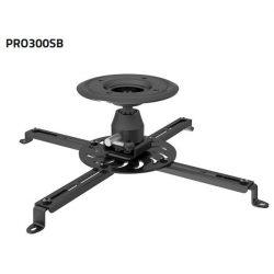 SUNNE (PRO300SB) Projektor mennyezeti konzol dönthető, Profil: 135mm, max 25kg (fekete)