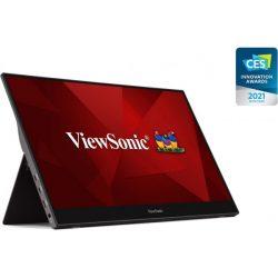 "ViewSonic Portable Monitor 15,6"" - TD1655 (IPS,16:9, 1920x1080, 10 point Touch, 6,5ms, 250cd/m2, miniHDMI, 2xUSB-C, tok)"